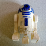 McDonalds 2009 Happy Meal Star Wars R2-D2 Projector figure